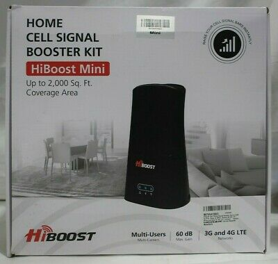 HiBoost Cell Phone Signal Booster for Home - Office
