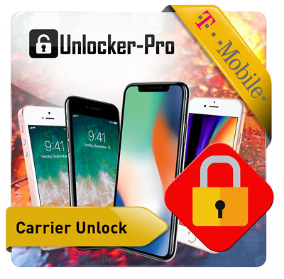T-Mobile USA -  Apple iPhone 6 6S 7 7- 8 8- X  XR XS CLEAN unlock service