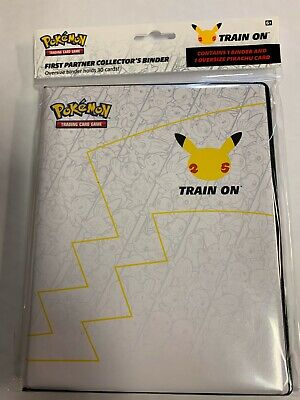 NEW Pokemon 25th Anniversary First Partner Collector's Binder SEALED