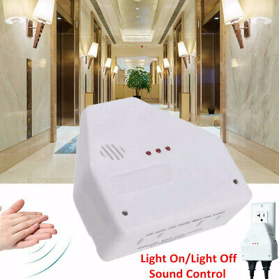 Clapper Sound Activated Clap OnOff Light Switch Wall Socket Outlet Adapter US