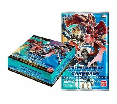 Digimon Card Game 2021 CCG Special Booster Box V 1-5 English Sealed IN STOCK