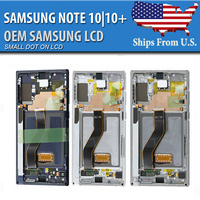 Samsung Galaxy Note 1010- Plus LCD Replacement Screen Digitizer Frame OEM DOT A