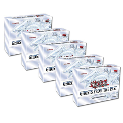 YuGiOh Ghosts from the Past Display Box 5 mini boxes FACTORY SEALED