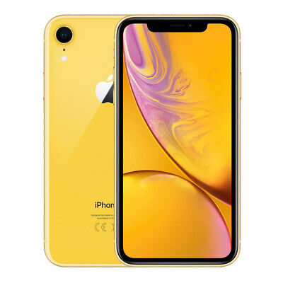 Excellent Condition - Renewed Apple iPhone XR 64GB - Yellow
