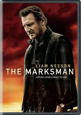 The Marksman DVD - Movie - 2021 - Liam Neeson - Sealed - Brand New