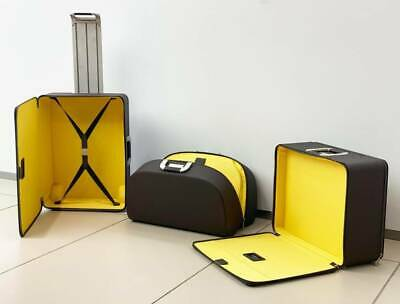 Genuine Ferrari Luggage Collection Set of 3 Designed By Marc Newson OEM NEW RARE