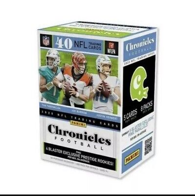 2020 Panini NFL Chronicles Football Trading Cards Single Sealed Retail Pack READ