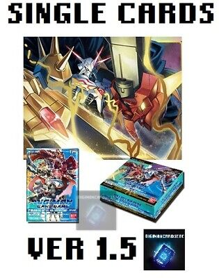 Digimon Card Game 2020 Special Booster Ver 1-5 Single Cards BT01-03 ENGLISH TCG