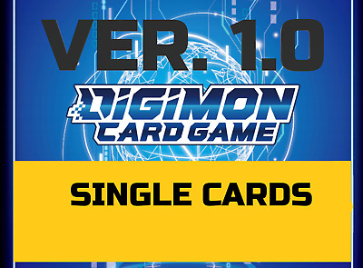 Digimon Card Game 2020 Special Booster Ver 1-0 Single Cards BT01-03 ENGLISH TCG