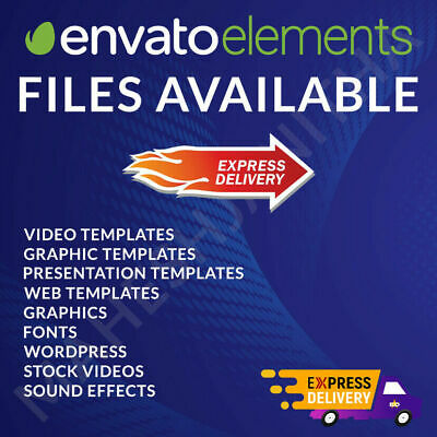 Envato Elements Files Available - Fast Delivery