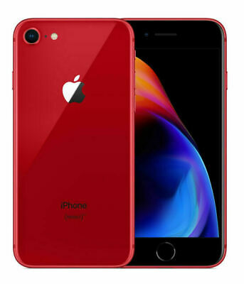 Apple iPhone 8 - 64GB - Product Red Factory Unlocked 100 Tested - Preowned