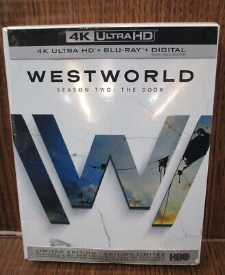 4K Ultra HD - Blu Ray Westworld The Complete Second Season 2 Digital expired NEW