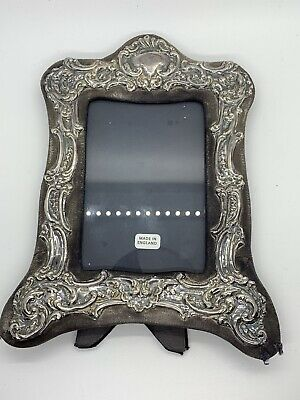 Keyford Sterling Silver Hallmarked Repousse Photo Frames