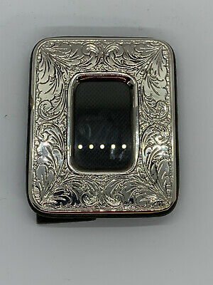 Sterling Silver Italian Photo Picture Frame   297 FI