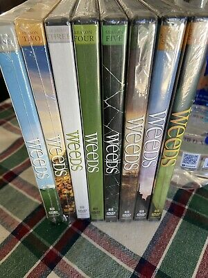 Weeds Complete Series With 8 Individual Seasons Factory Sealed And Untouched
