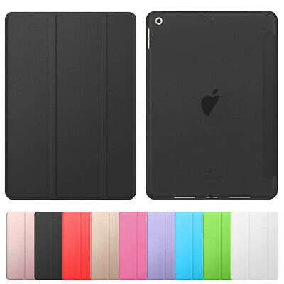 For Apple iPad 8th 7th Generation 10-2 Hard Shell Flip Case Stand Leather Cover
