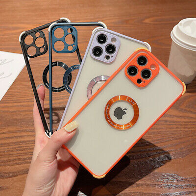 Case for iPhone 12 XR 11 Pro Max 7 8 Plus X XS Shockproof  Silicone Bumper Cover