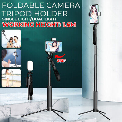 Universal 63-inch Selfie Stick Tripod Stand for Cell Phone with Bluetooth Remote