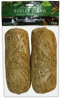 Summit 130 Clear-water Barley Straw Bales 2-Pack Brown