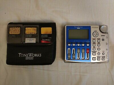 KORG Multi Track Recorder Pandora PXR4 ToneWorks With 3 Memory Card And Pouch