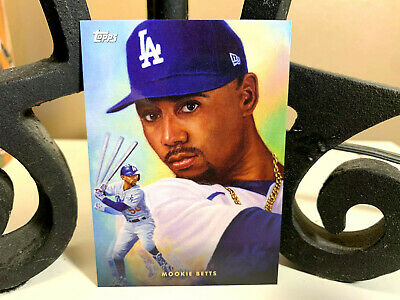 2021 TOPPS GAME WITHIN THE GAME MOOKIE BETTS Card 5 L-A- DODGERS NMMT