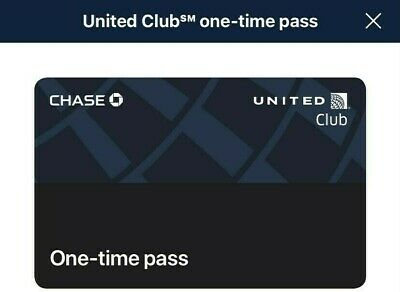 Two United Club One Time Passes Expire Sept 30 2021-Fast Email Delivery