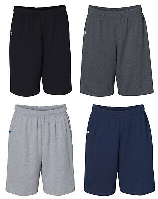 Russell Athletic 25843M Mens Basic Cotton Pocket Shorts