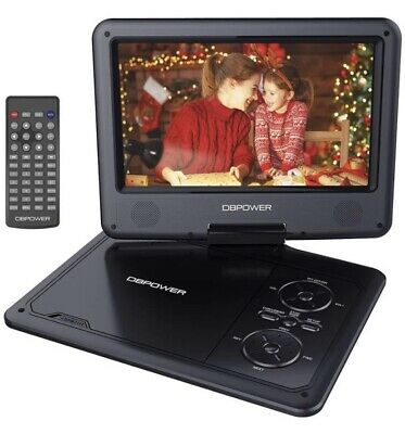 NEW 9 Inch DBPower Portable DVD Player FREE Fast US Shipping from Arizona DVD