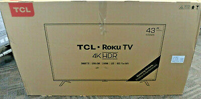 TCL 43S425 43 Inches Ultra HD Smart LED TV