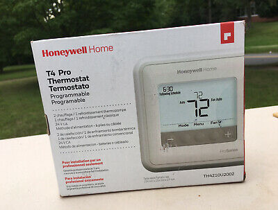 New Sealed Honeywell Home T4 Pro Programmable Thermostat  TH4110U2005