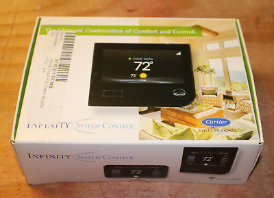 Carrier Infinity SYSTXCCITCO1-B Touch Screen Programmable WiFi Thermostat - NEW