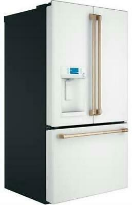 NIB Cafe CFE28TP4MW2 36 French Door Smart Refrigerator with 27-8 Cu Ft Capacity