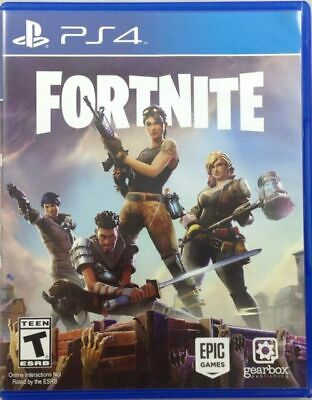Sony Playstation 4 Fortnite physical copy Complete and tested Nice HOT