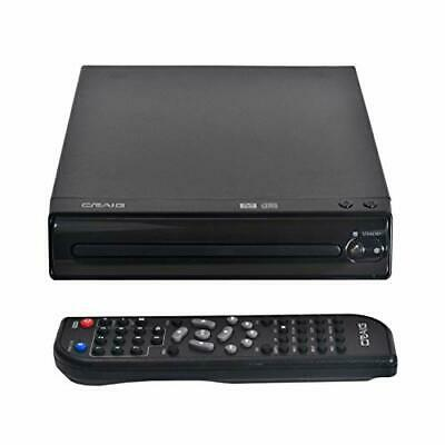 Craig CVD512a Compact DVD Player with Remote in Black  Compatible with DVDD-