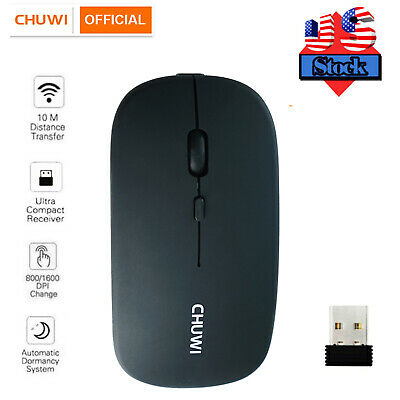 2-4GHz Wireless Optical Mouse Mice - USB Receiver For PC Laptop Computer DPI USA