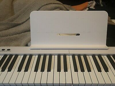 Portable Foldable 88-key Piano Keyboard - Very Good Condition- -pedalcasestand