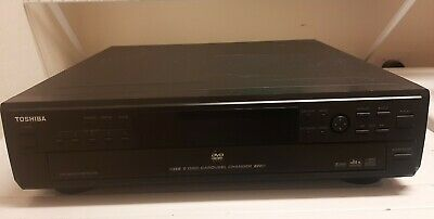 Toshiba SD-2705 5-Disc DVDCD Carousel Changer Player  Works great