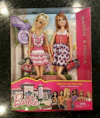 Barbie - Midge Life in the Dreamhouse 2012 Mattel Y7448 Doll New Box dented Rare