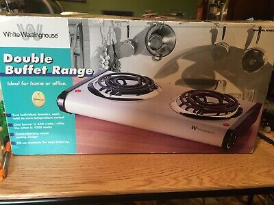 White-Westinghouse Double Buffet Range- New In Box