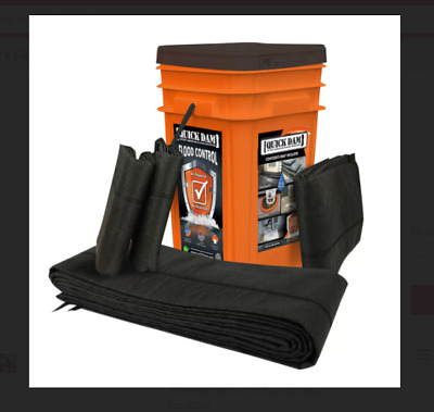 Quick Dam Grab - Go Bucket Water Activated Flood Barriers