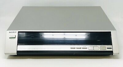 SONY PS-FL7 Linear TrackingQuartz Lock Direct Drive Turntable Tested WORKS