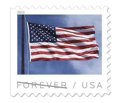 5000 Pcs 2019 American Flag Postage 250 Booklets of 20 USPS Free Shipping