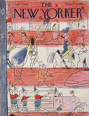 1949 New Yorker July 2 - Third Grade Fourth of July