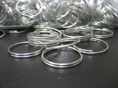 Lot 1000 pc 34 Bulk Split Rings  Gift Craft Key Rings  Keyrings  New