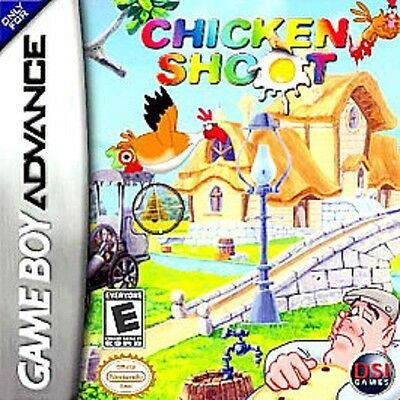 NEW Chicken Shoot  for Nintendo Game boy Advance System Console