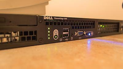 Dell Poweredge R860 860 Xeon Dualcore 2,13Ghz 1GB 2x 80GB