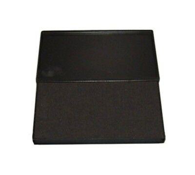 Large BLACK Rubber Stamp Felt Ink Pad Size 2 6-14 x 3-14