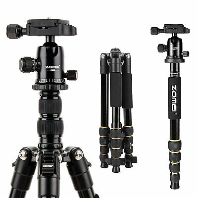 ZOMEI Q666 Portable Professional Tripod-Ball Head Travel for Canon DSLR Camera