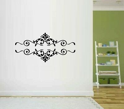Scrolls 2 Set of Two - Wall Decal