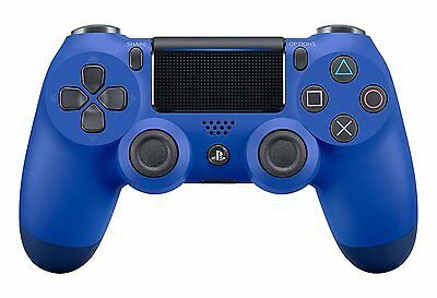 Official Sony PlayStation 4 PS4 Dualshock 4 Wireless Controller Wave Blue NEW